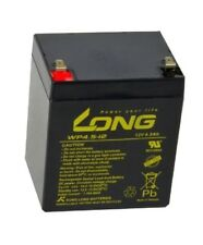 LONG Akku 12V/4,5Ah AGM Bleiakku WP4.5-12 L90xB70xH101 Pol T2 Faston 250 4,8