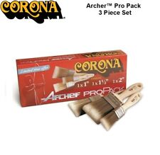 Corona Archer Paint Brush 3 Piece Box Set For Use In All Paints