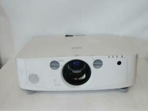 NEC NP-PA550W LCD Projector Lamp Hours Used 90hr / Filter Hours Used 90hr