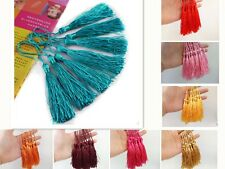 10-100pcs Fringe Craft Sewing Curtain Making Trims Accessory Tool Tassel Pendant