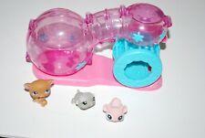New listing Littlest Pet Shop Habitrail Playset Mouse & Hamster Toy Figure Set