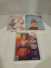 Wii Fitness Game Lot