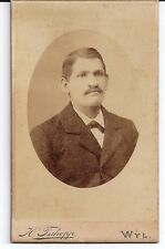 1896 HERMAN TSCHOPP St. Galien WYL Mattstrasse E. J. HOFFMANN
