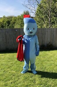 IGGLE PIGGLE IN THE NIGHT GARDEN LOOKALIKE MASCOT COSTUME FOR HIRE