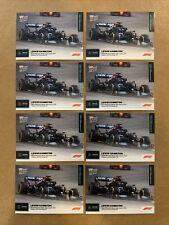 New listing (8) Lewis Hamilton 2021 Topps Now Formula 1 F1 #1 Lot