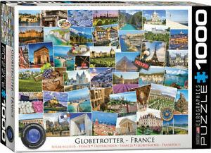 Eurographics 1000 Piece Jigsaw Puzzle France - Globetrotter EG60005466