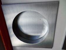 Maniglie Kit quadrato cromo lucido o cromo satinato incasso per porta scorrevole