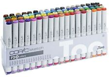 COPIC SKETCH MARKER PENS 72 SET A  - MANGA GRAPHIC ARTS + CRAFT - FAST SHIPPING