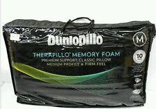Tontine-Dunlopillo 2 Pack Therapillo Medium Profile Memory Foam Pillows