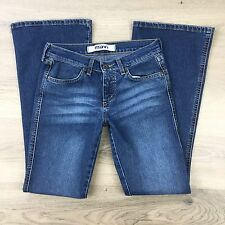 Mavi Marie Flare Sexy Low Rise Slim Women's Jeans Size 28/30 Actual W27 (S15)