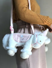 Super Cute Adorable White And Pink Japanese Kawaii Unicorn Bag Soft Gift 1 pc