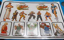 NEW Street Fighter Anniversary Sticker Sheet *Official Capcom from 2004