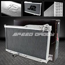 J2 3-ROW POLISHED ALUMINUM RACING RADIATOR 93-97 MAZDA RX7 RX-7 FD FD3S S6/S7 MT