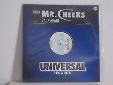 "Mr. Cheeks - "" Back Again "" LP"