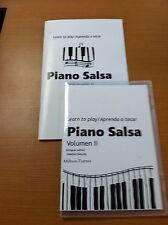 Instructional Salsa Piano DVD With Booklet - Volume II