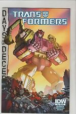 IDW COMICS TRANSFORMERS #38 MARCH 2015 SUBS VARIANT 1ST PRINT NM