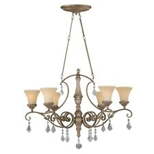 Vaxcel Avenant 36' Oval Chandelier , French Bronze - H0142