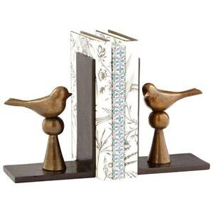 Cyan Design Birds/Books, Antique Brass - 8289