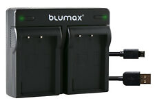 Akku Dual Ladegerät für Olympus Pen E-PL9 E-PM1 E-PM2 Stylus 1 1s  90108-90387 