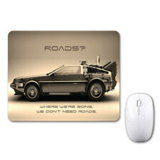 Delorean Back To The Future Funny Mouse Mat Pad Notebook Computer Laptop Mice