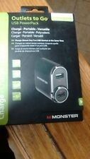 Monster Usb PowerPack 2-in-1 Charger with Car Adapter