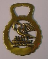Décapsuleur en laiton décor oiseaux Peerage England / Brass bottle opener