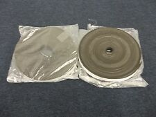 """2 ROLLS RUBBER STRIPPING STRIP DOOR WINDOW AIR COLD WEATHER 100' 1"""" ADHESIVE NEW"""