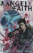 Angel & Faith #1 comic book season 10 Tv show series Joss Whedon Buffy