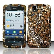 For AT&T Pantech Flex Crystal Diamond BLING Hard Case Snap Phone Cover