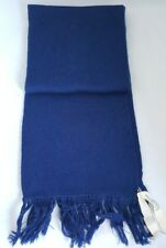 "Paula Bianco Acrylic/Nylon Navy Blue 72"" Knit Scarf - O/S **NWOT+SHIPS FREE**"