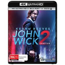 John Wick Chapter 2 (TWO) 4K Ultra HD HDR Blu-ray Digital BRAND NEW SEALED