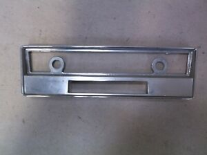 1961-63 Lincoln Continental Radio Face Plate