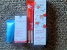 Clarins Instant light natural lip perfect and sos hydration mask