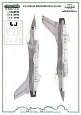 Model Maker Decals 1/48 F-16 A/B/C/D STRENGTHENING PLATES Vinyl Decals