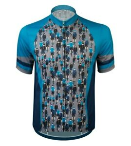 Aero Tech Sprint Jersey Men's Biker Dudes Sublimated Cycling Jersey  Made in USA