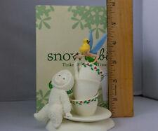 "Department 56 Snowbabies and Disney's Tinker Bell ""Tea Time� Figurine"