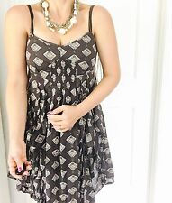 COUNTRY ROAD DESIGNER Floral PRINT LINED DRESS SZ 8