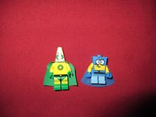 LEGO Spongebob Superhero Minifigures Lot. Spongebob & Patrick