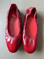 NEW Size 39 Anne Klau Red Metallic Patent Leather Women's Shoes