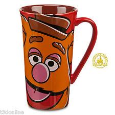 THE MUPPETS MOST WANTED FOZZIE BEAR TALL COFFEE TEA LATTE MUG CERAMIC GENUINE