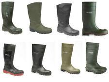 Men's Slip on Wellington Synthetic Boots