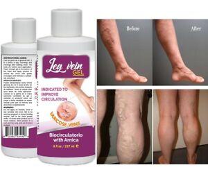 Natural Ointment Varicose Veins Vasculitis Treatment Foot Care Cream USA