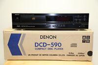 Denon DCD-590 CD-Player PMC Audio Technology von USA 120Volt in Schwarz mit OVP