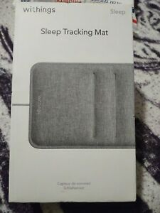Withings WSM02 V1.O-Sleep Tracking Mat with Heart Rate & Instructions-Gray