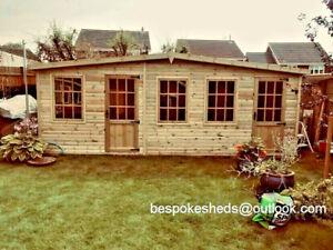 COMBI SUMMER HOUSE SHED WORKSHOP GARDEN OFFICE STORAGE delivery 8-14 weeks