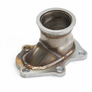 """5 Bolt TD04 Turbo Downpipe Flange to 2.5"""" V Band Conversion Adaptor For Subaru"""