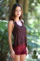 Tribal Top, Goa, Pixie, Natural, Faerie, Gypsy, Boho, Hippie, Rave, Psytrance