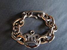 Armband Modeschmuck Kunststoff Krone goldfarbenFreundschaft