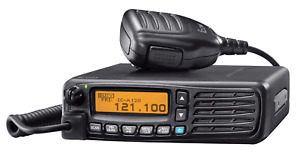 BNIB, MOBILE VHF AIRBAND TRANSCEIVER w/ Vehicle Mount, by iCom model IC-A120