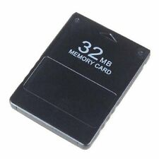 Nueva Tarjeta de memoria 32MB para los datos de almacenamiento Sony Playstation 2